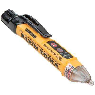 Dual-Range Non-Contact Voltage Tester with Laser Pointer