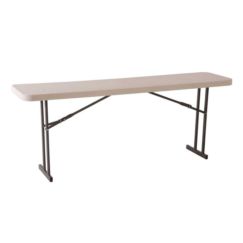 Lifetime White Seminar and Conference Folding Table