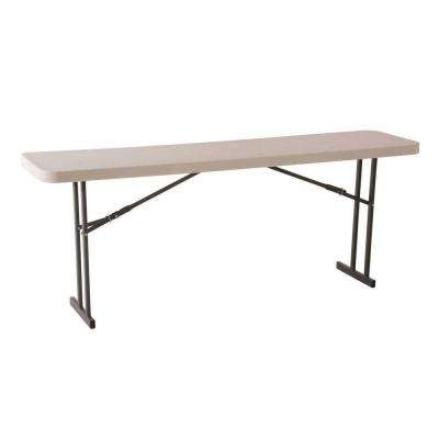 White Seminar and Conference Folding Table
