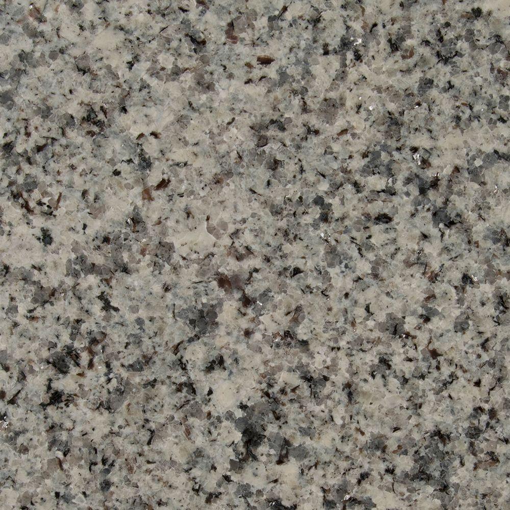 3 in. x 3 in. Granite Countertop Sample in Azul Platino