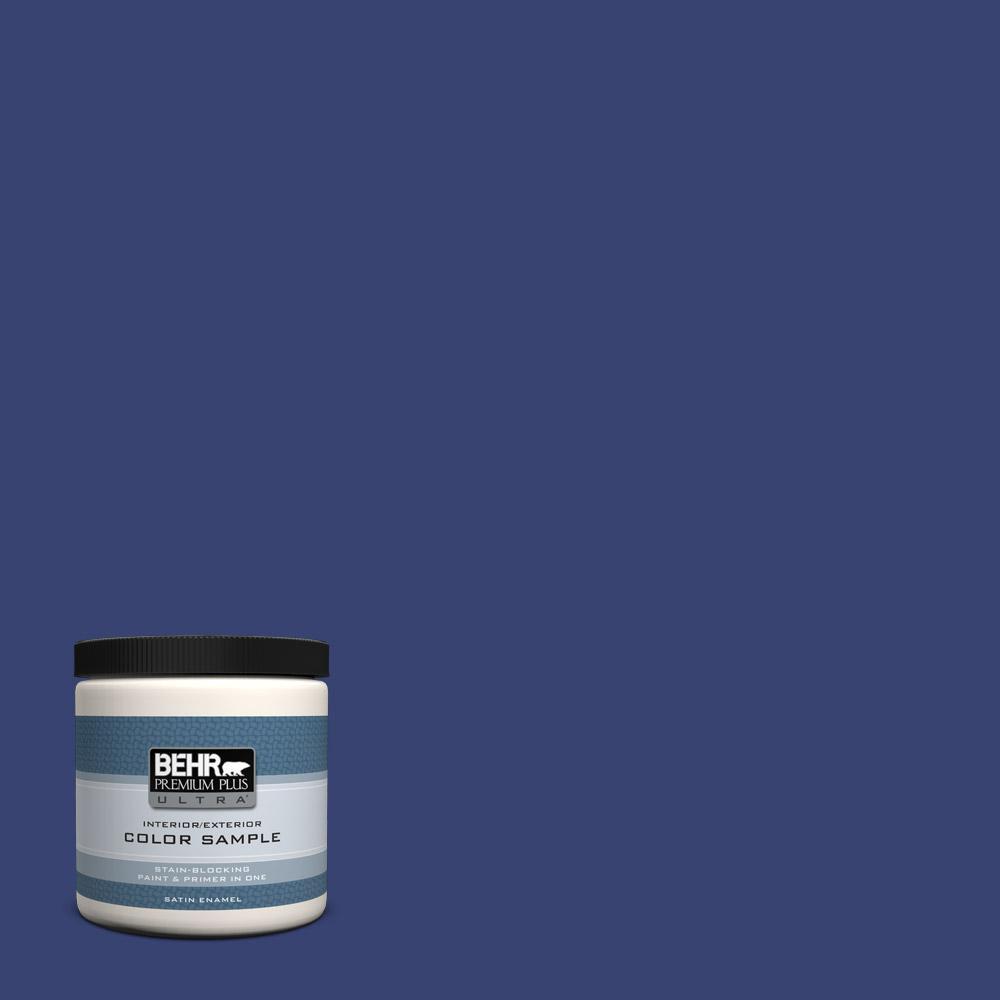 behr premium plus ultra 8 oz t18 18 constellation blue. Black Bedroom Furniture Sets. Home Design Ideas