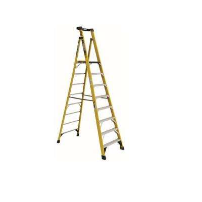 10 ft. Fiberglass Podium Ladder with 14 ft. Reach and 375 lbs. Load Capacity Type IAA Duty Rating