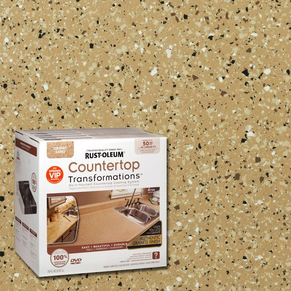 Rust-Oleum Transformations 70 oz. Desert Sand Large Countertop Kit