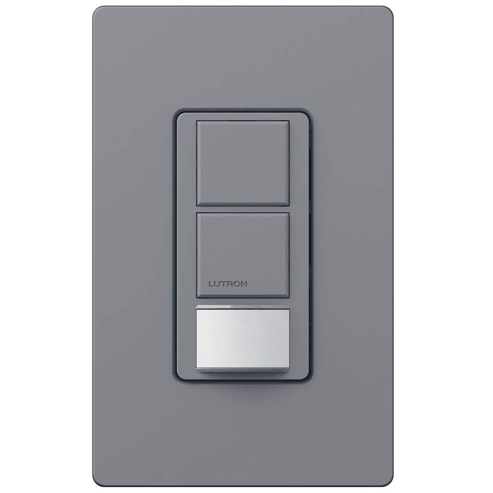 Lutron Maestro 8 Amp Multi-Location Digital Switch- White-MA-S8AM-WH on