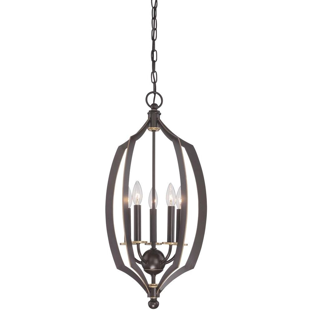 Minka Lavery Middletown Light Bronze Downtown Pendant - 5 pendant light fixture