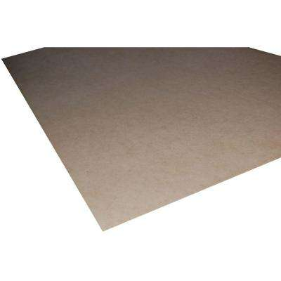 Medium Density Fiberboard (Common: 1/4 in. x 2 ft. x 2 ft.; Actual: 0.216 in. x 23.75 in. x 23.75 in.)