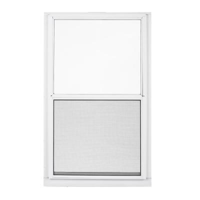 28 in. x 55 in. 2-Track Single Hung Aluminum Storm Window