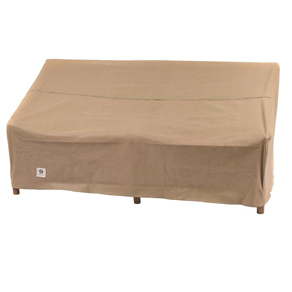 Duck Covers Essential 70 In W Patio Loveseat Cover Elv704135 The Home Depot