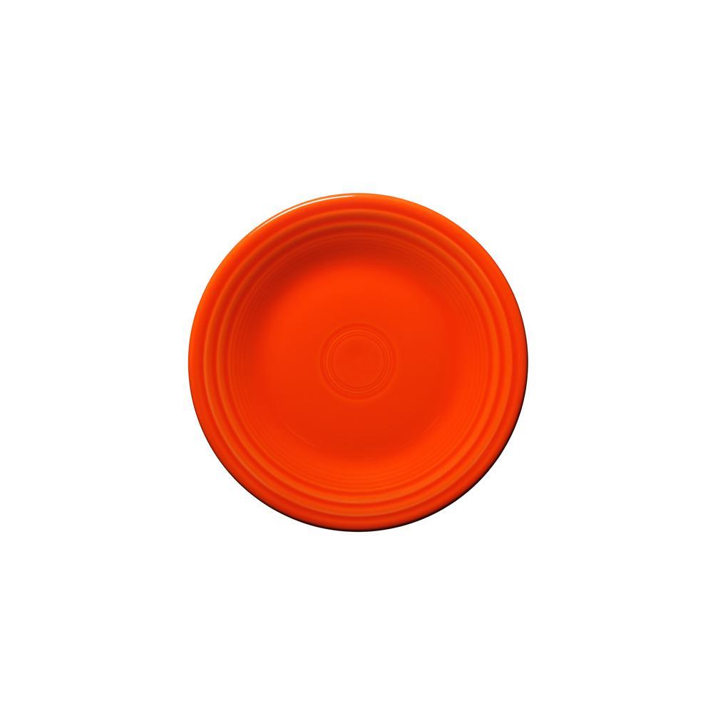 Fiesta Fiesta Poppy Luncheon Plate