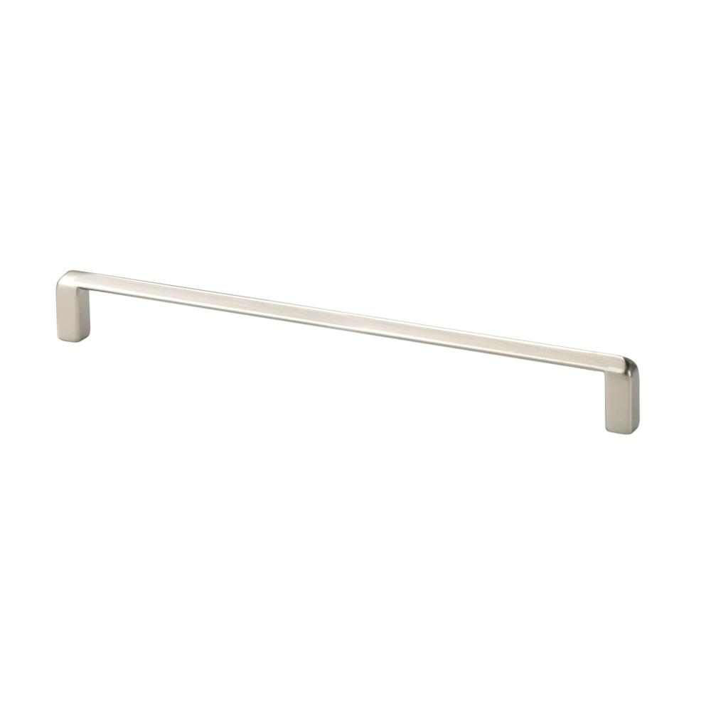 Italian Design Collection 7.8 in. Satin Nickel Thin Cabinet Pull