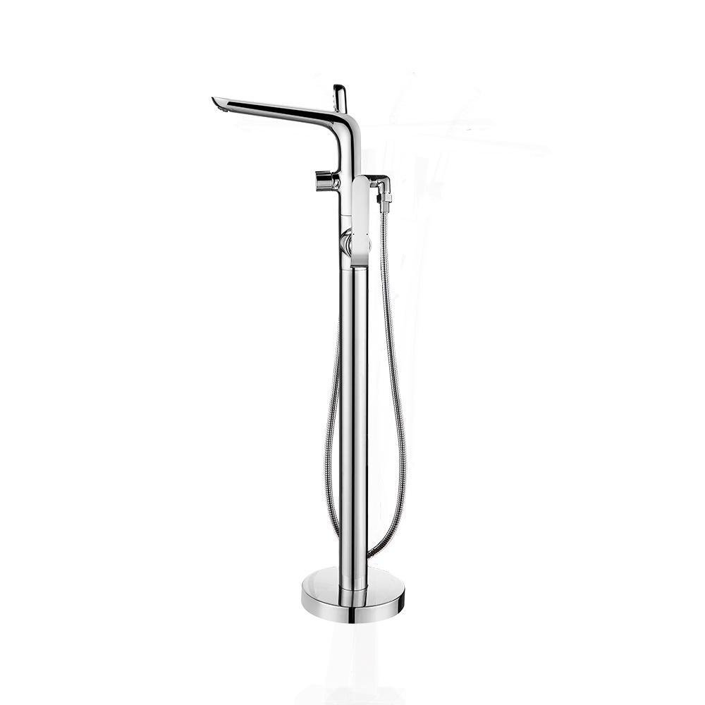 ROSWELL Nova Freestanding Floor-Mounted Handheld Bath Wand