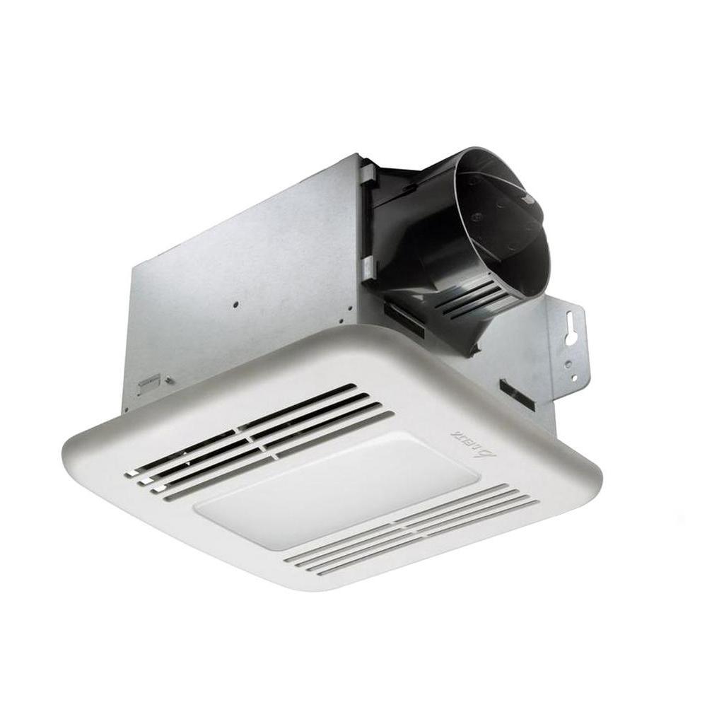 GreenBuilder Series 80 CFM Ceiling Exhaust Bath Fan with LED Light