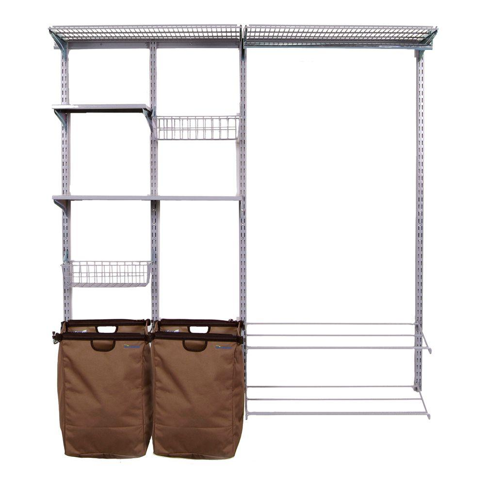 Gray - Wire Closet Organizers - Closet Storage & Organization - The ...