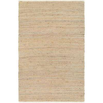 Nature's Elements Gravity Natural-Tan 3 ft. x 5 ft. Area Rug