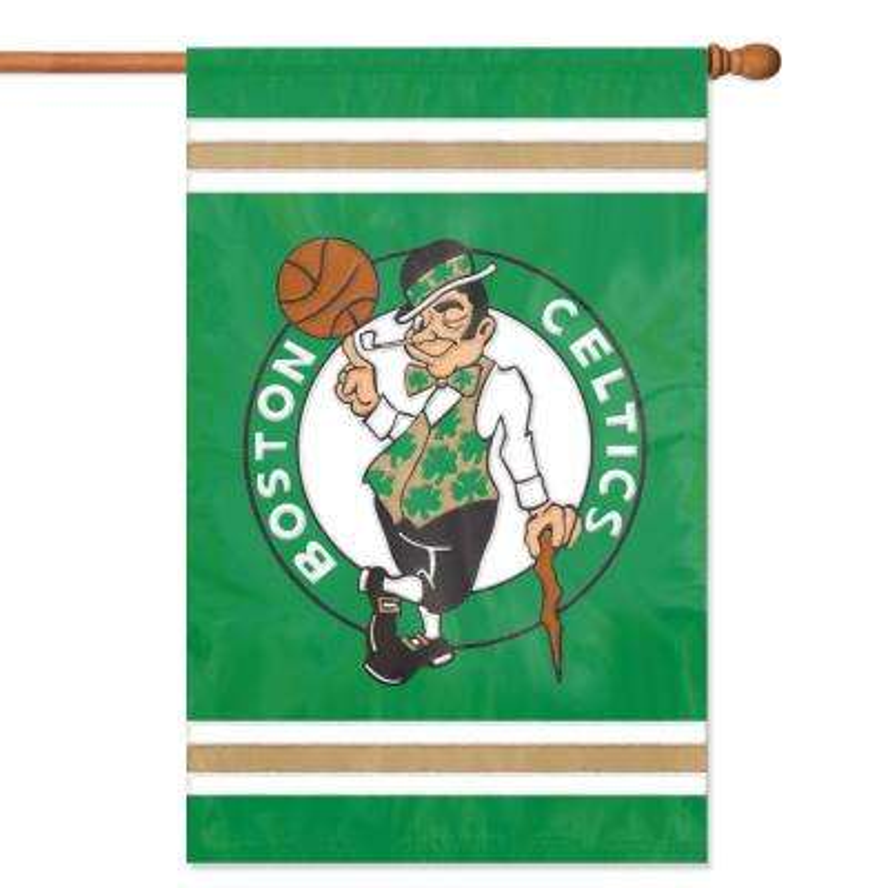 Boston Celtics Applique Banner Flag