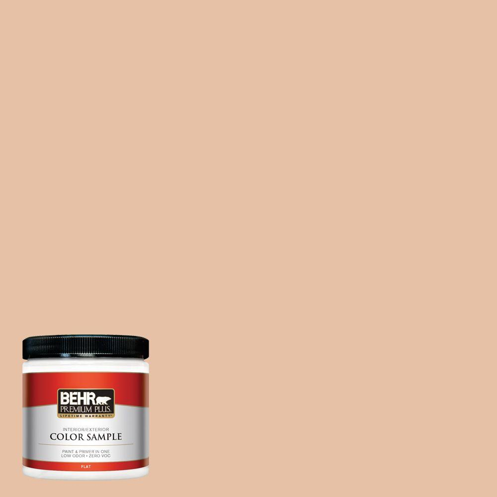 Paint Colors Adobe And Exterior Paint Colors: BEHR Premium Plus 8 Oz. #N240-2 Adobe Sand Flat Interior/Exterior Paint And Primer In One Sample