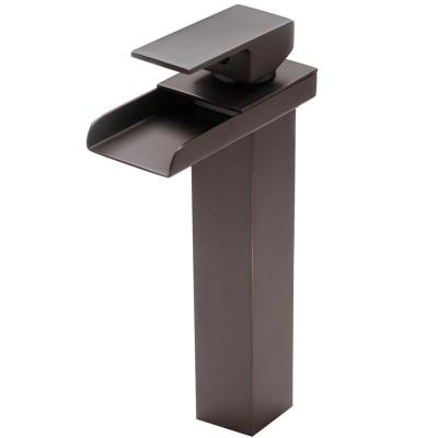 Crave Modern Single-Hole Single-Handle Bathroom Faucet in Oil Rubbed Bronze