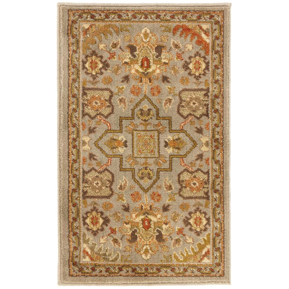 Grayson Blue 1 ft. 10 in. x 3 ft. Accent Rug