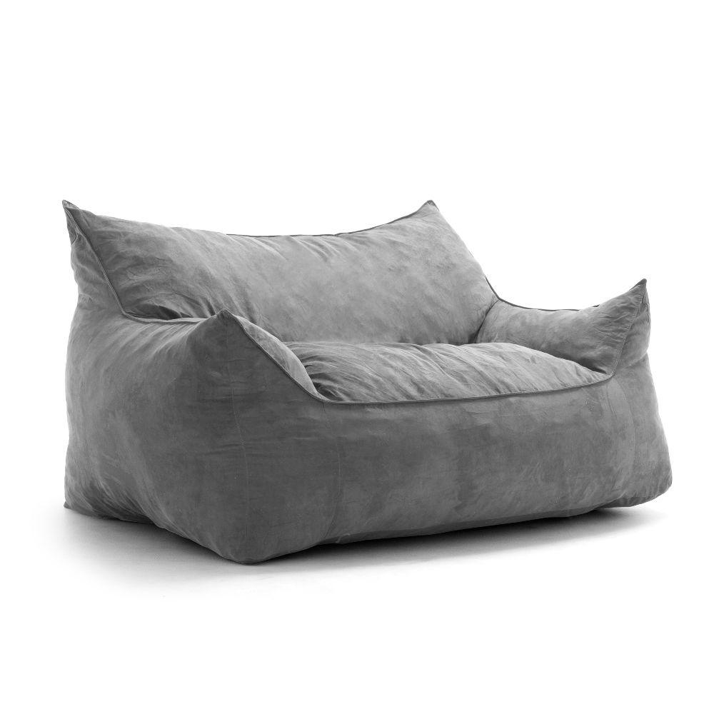 Imperial Fufton Shredded Ahhsome Foam Cement Comfort Suede Plus Bean Bag