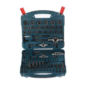Click here to buy Bosch Black Oxide Tap & Die Set (77-Piece) by Bosch.
