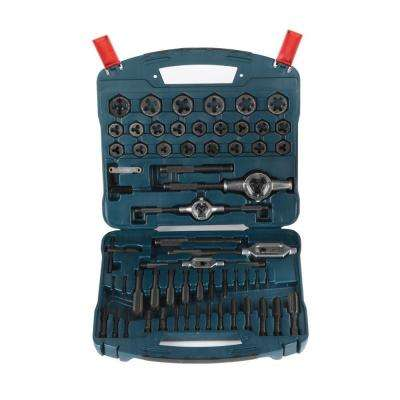 Black Oxide Tap & Die Set (77-Piece)