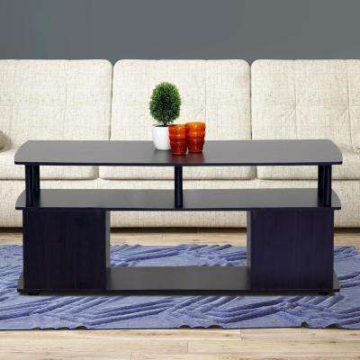 JAYA Blackwood Built-In Storage Coffee Table