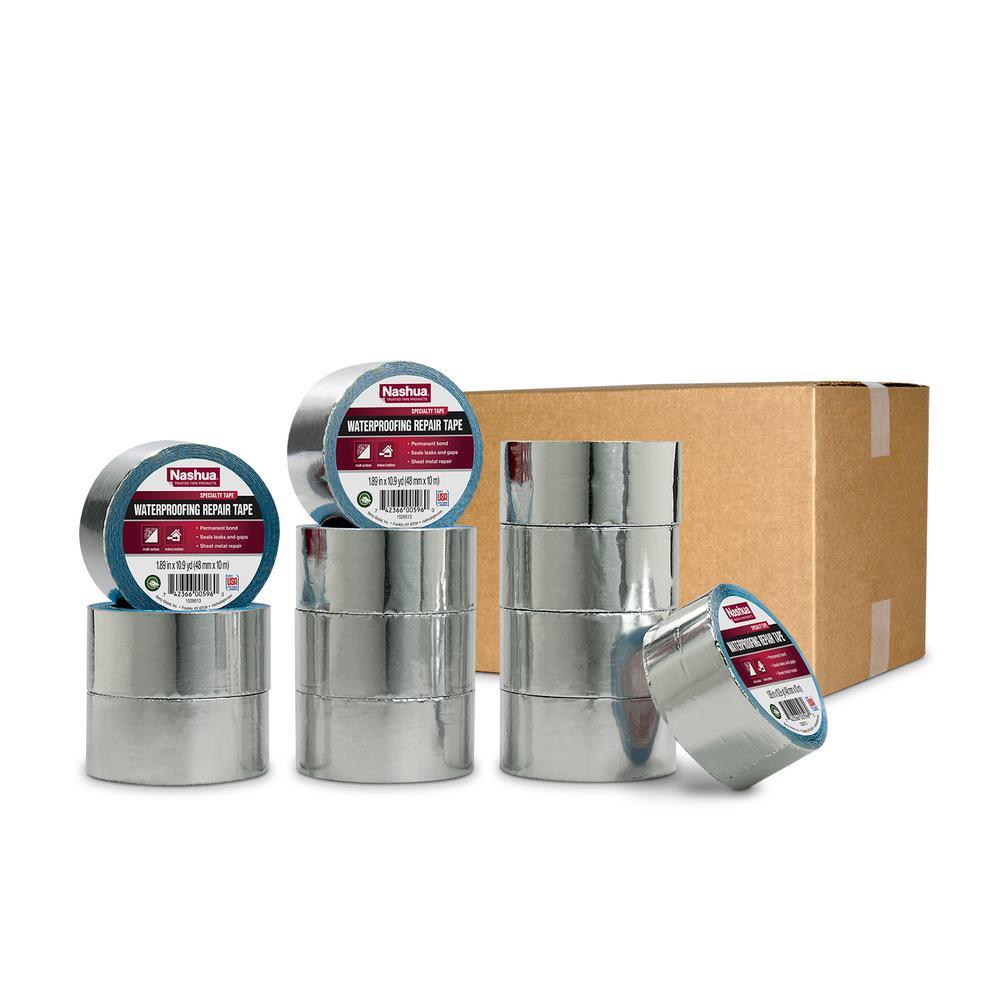 1.89 in. x 10.9 yd. Waterproofing Repair Tape Pro Pack (12-Pack)