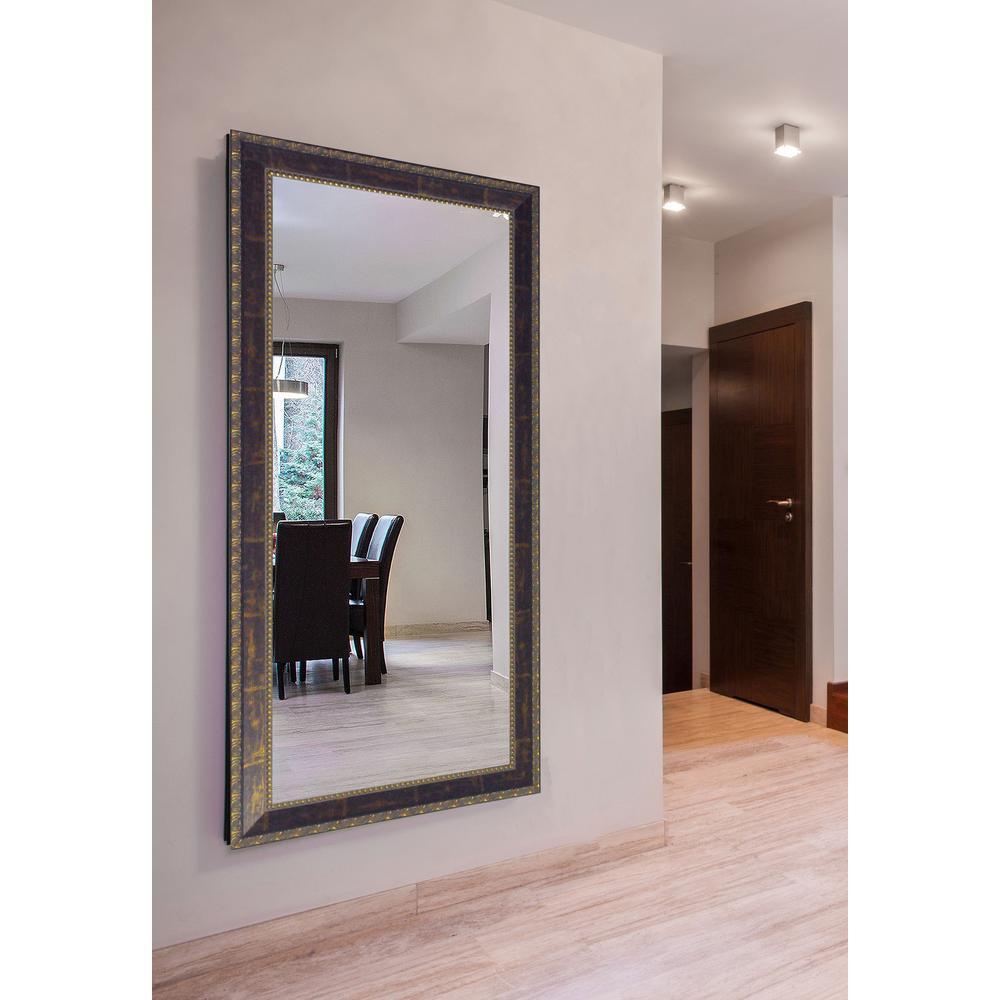 78 in. x 39 in. Roman Copper Bronze Double Vanity Mirror