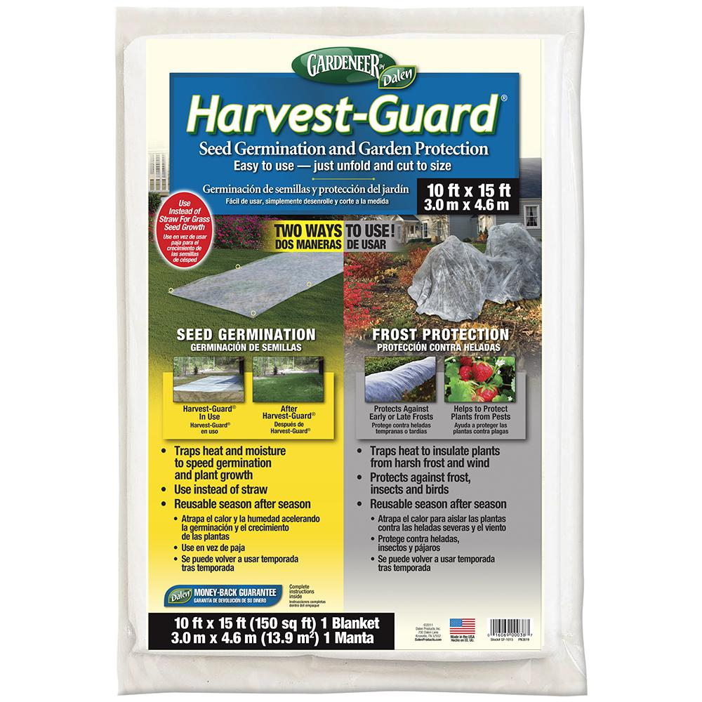 Harvest-Guard 10 ft. x 15 ft. Dalen Products Protective Yard and Garden Cover