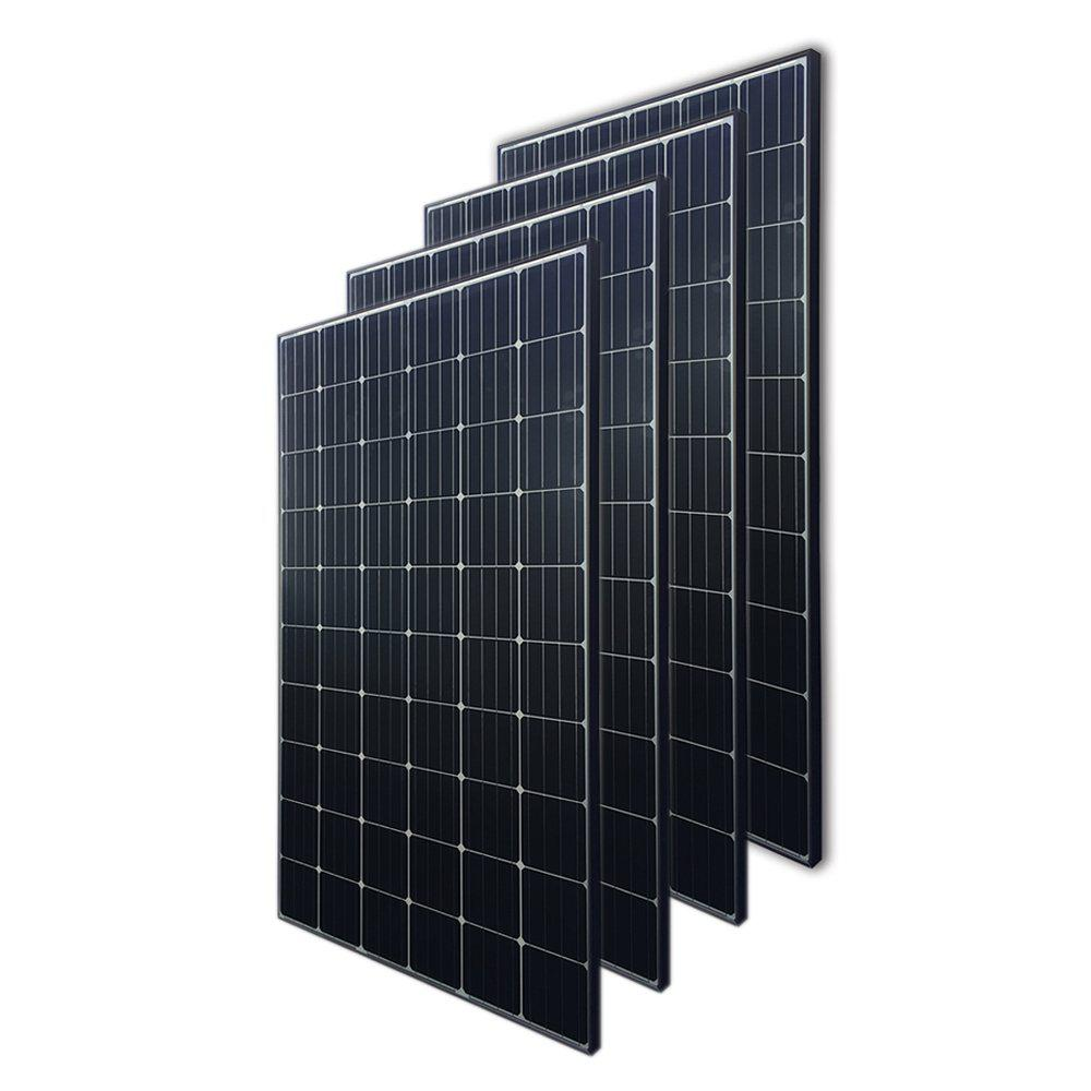 Renogy 300-Watt 24-Volt Monocrystalline Solar Panel (4-Piece)