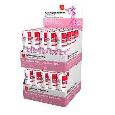 R-6.7 EcoTouch PINK Multi-Purpose, Small Project Unfaced Fiberglasss Insulation Roll 16 in. x 48 in. (40-Bags)