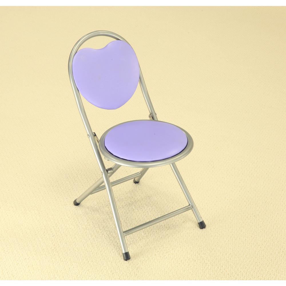 Purple Folding Kids Chair