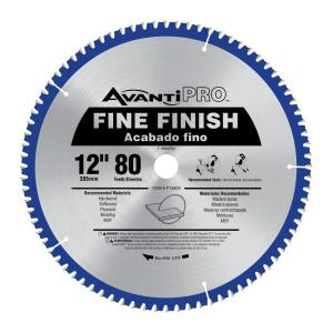 Avanti pro 12 in x 80 tooth fine finish saw blade p1280x the home avanti pro 12 in x 80 tooth fine finish saw blade p1280x the home depot greentooth Gallery