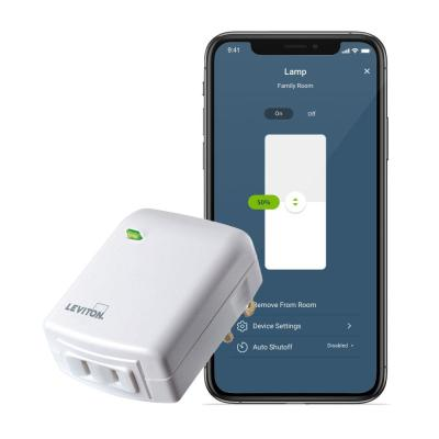 Decora Smart Wi-Fi Plug-In Dimmer, No Hub Required, Works with Alexa and Google Assistant
