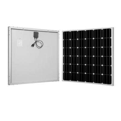 150-Watt 12-Volt Monocrystalline Solar Panel for RV, Boat, Back-Up System, Off-Grid Application