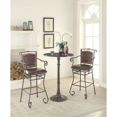 Bistro Style Bronze Bar Table