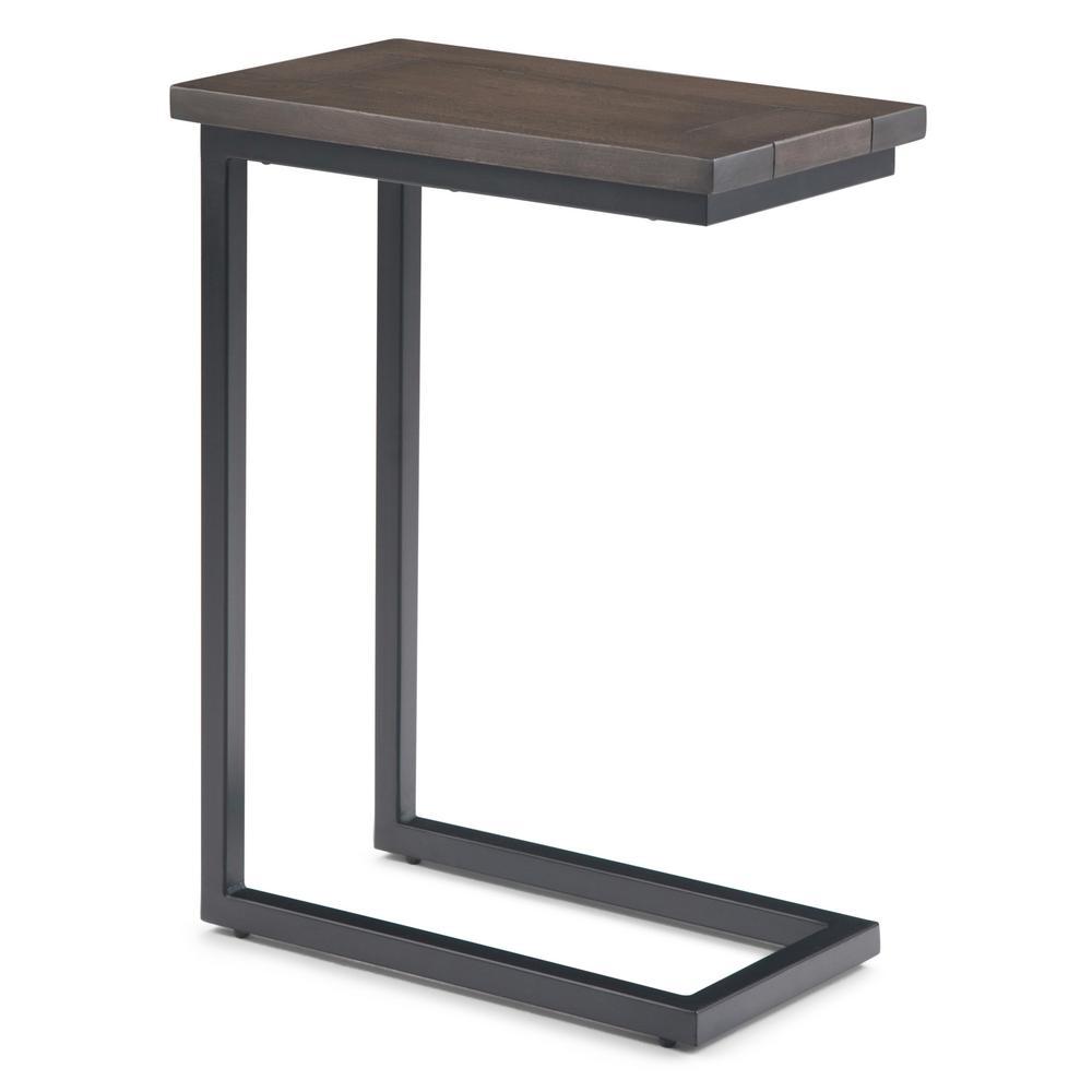 Groovy Simpli Home Skyler Solid Mango Wood And Metal 18 In Wide Ibusinesslaw Wood Chair Design Ideas Ibusinesslaworg