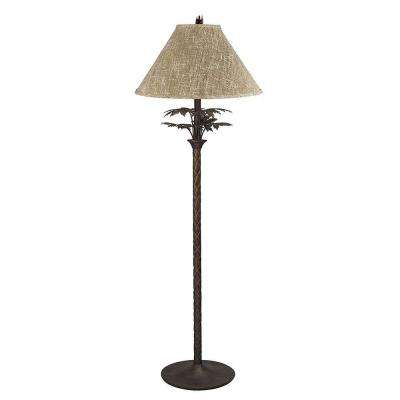 Cooper 61 in. Dark Bronze Floor Lamp
