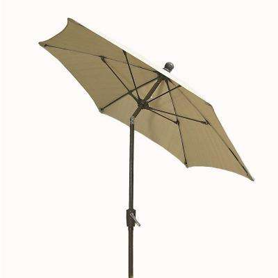 9 ft. Patio Umbrella in Beige