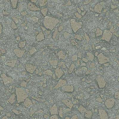 2 in. Solid Surface Countertop Sample in Aqualite