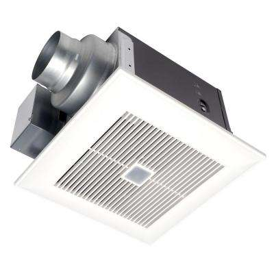 WhisperSense 80 CFM Ceiling Humidity and Motion Sensing Exhaust Bath Fan with Time Delay, ENERGY STAR*