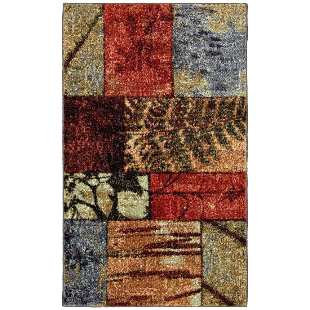 null Appalachian Moments Multi 2 ft. 6 in. x 3 ft. 10 in. Area Rug