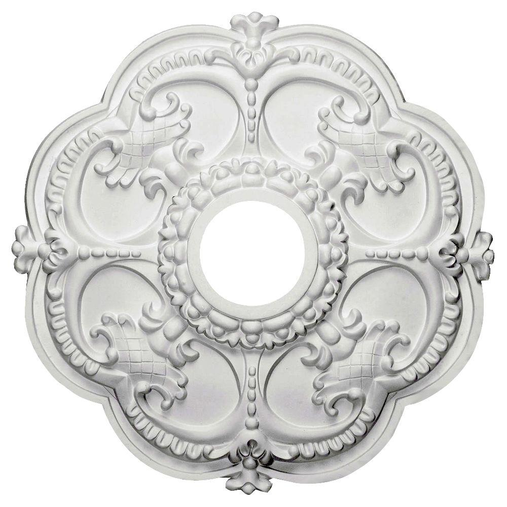 ceiling medallion on ekena high millwork classic pin