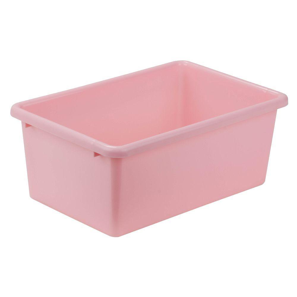 7.9-Qt. Storage Bin in Dark Pink
