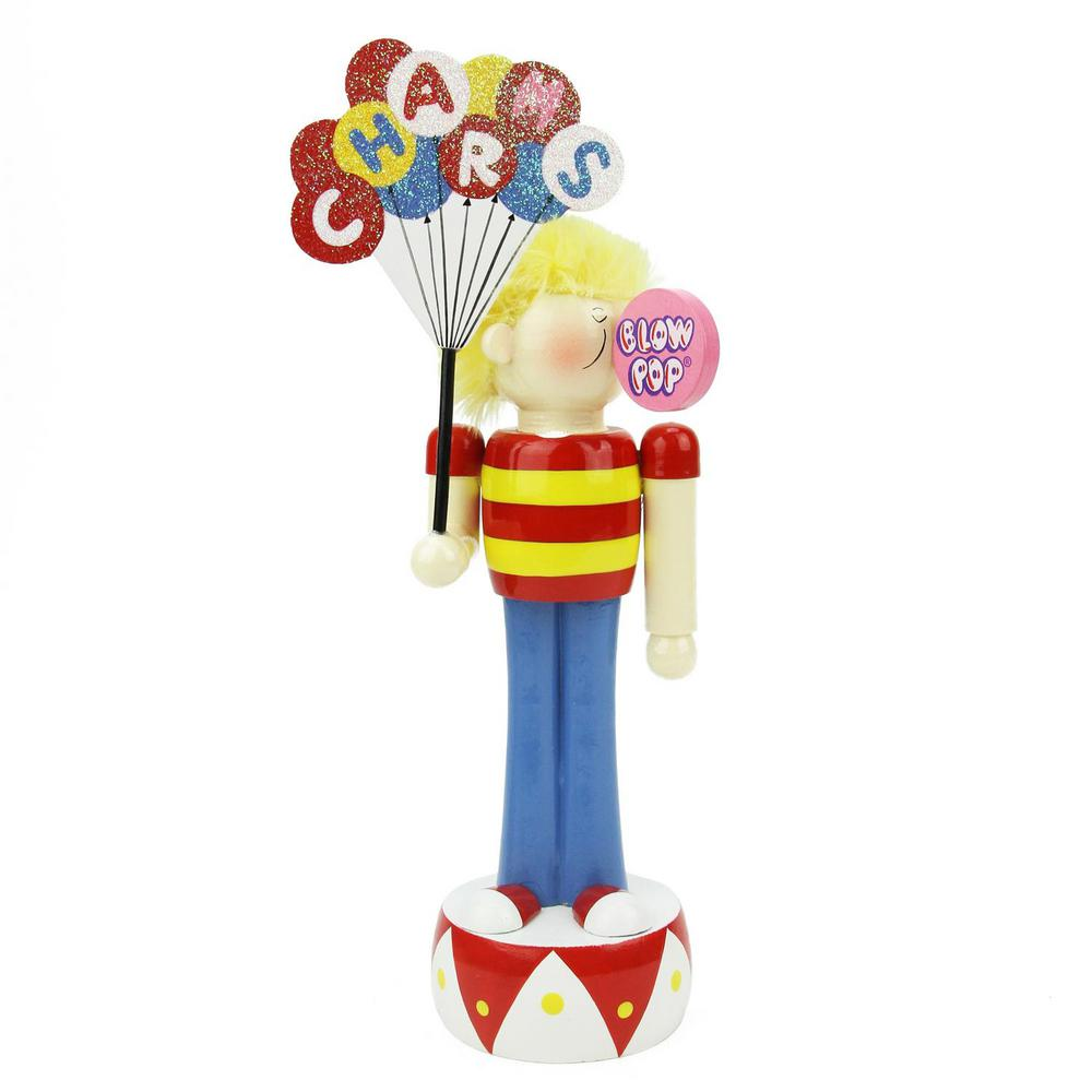 Northlight 10.75 In. Charms Blow Pop Wooden Boy-31757713