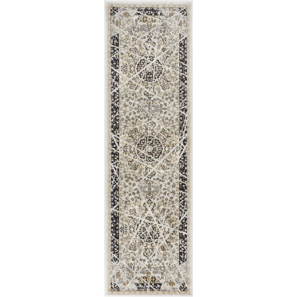 Well Woven Hughes Marco 2 ft. x 7 ft. Traditional Vintage Distressed ...