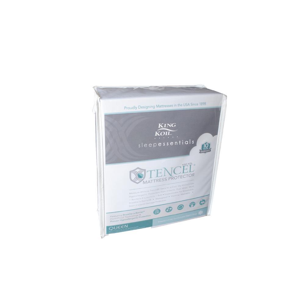 Sleep Essentials Tencel Full Size Mattress Protector
