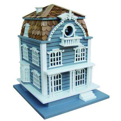 Blue with Mansard Roof Sag Harbor Birdhouse