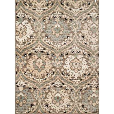 Tiffany Lilith Blue/Grey 8 ft. x 11 ft. Oversize Area Rug