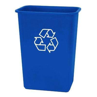 41 Qt. Plastic Recycling Wastebasket (Case of 12)